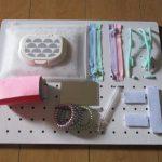 手作りおもちゃ ビジーボード